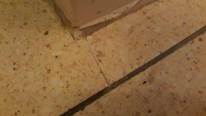 Tarrazzo Boden reparieren